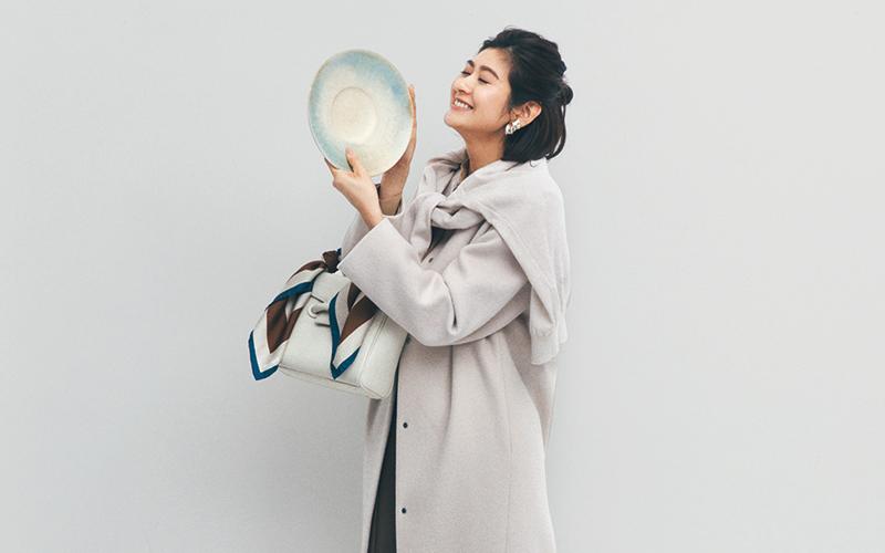 ロングコートにちょうどいいスカート丈【今日の着回しDiary】