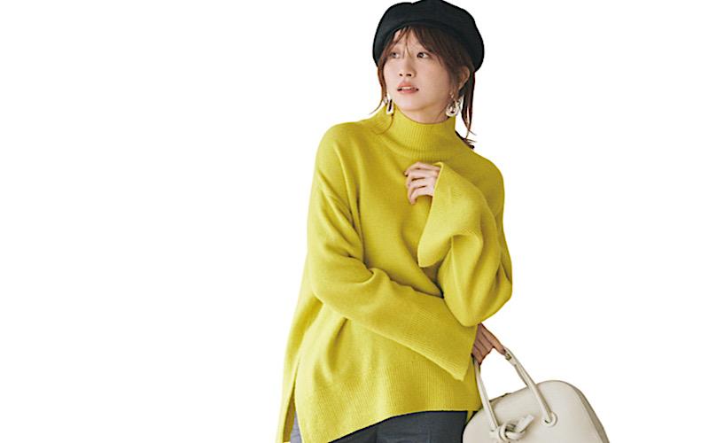 【今日の服装】大人っぽい「カラーニットコーデ」って?【アラサー女子】