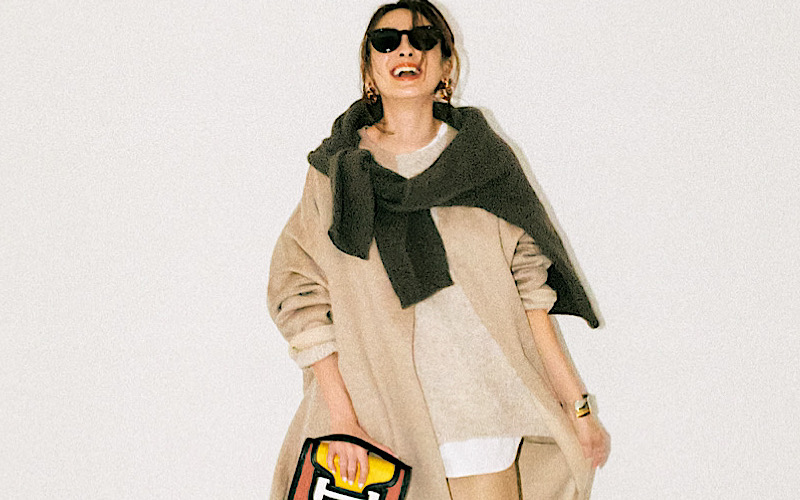【今日の服装】初心者でもオシャレに見える「ベージュコーデ」のコツは?【アラサー女子】