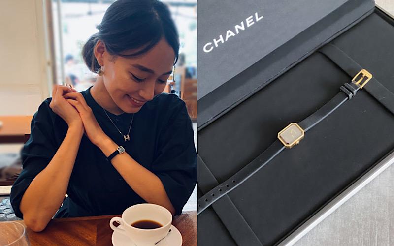 【シャネル】外資系勤務OLが昇格祝いに購入した時計