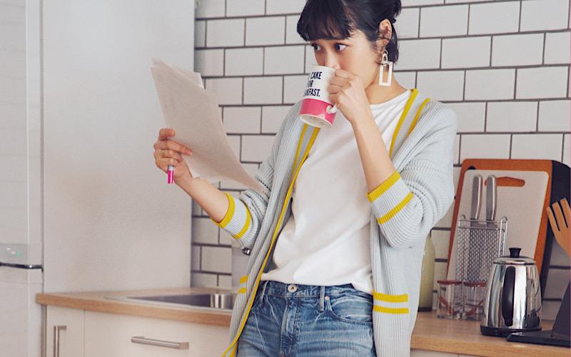 【今日の服装】リモートワークで「白T×デニム」を着るなら?【アラサー女子】