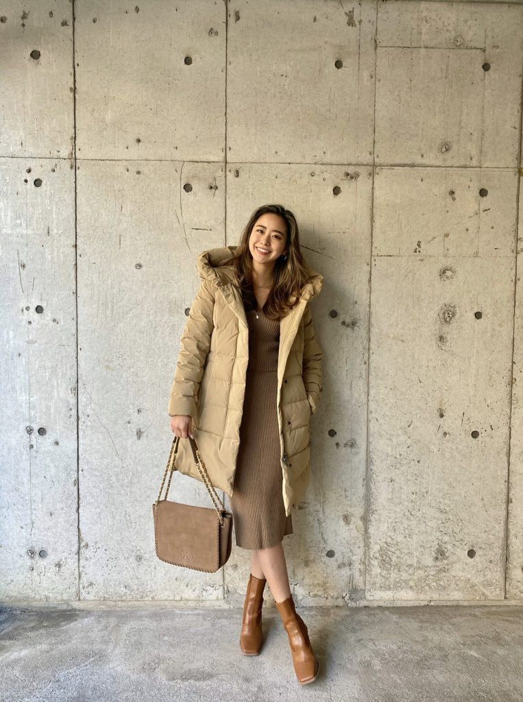 dawn coat: WOOL