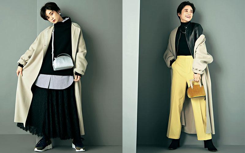 薄手のコートで冬を乗り切る「重ね着アイディア」10選【後編】