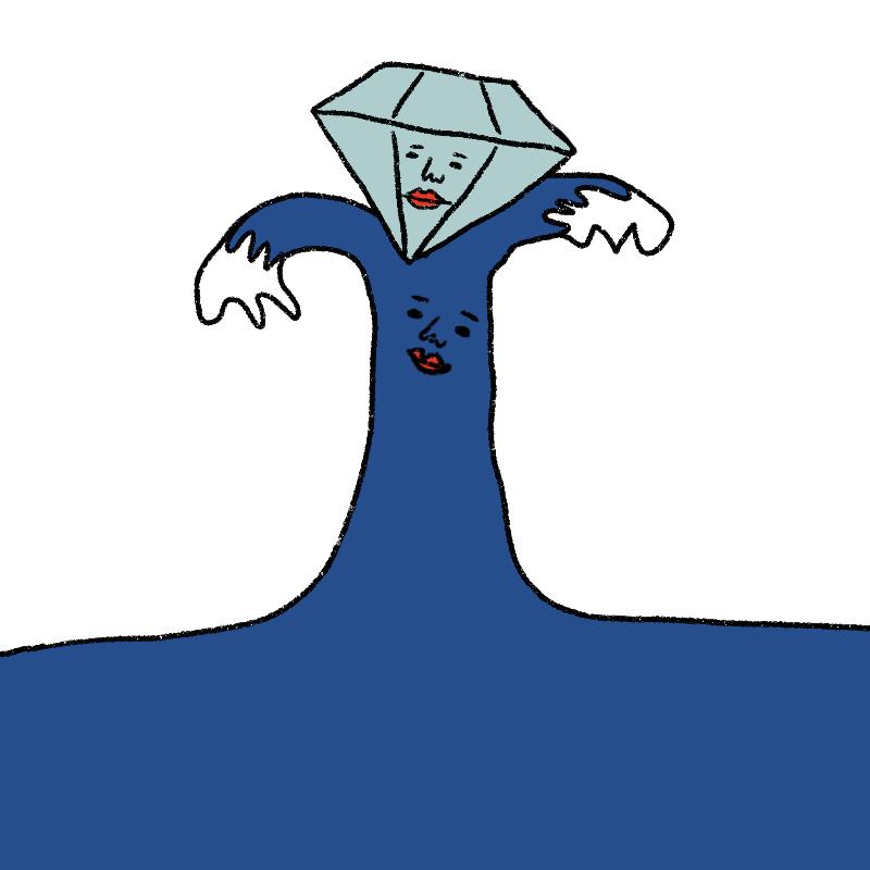 ダイヤモンド星人は海星人にとっ