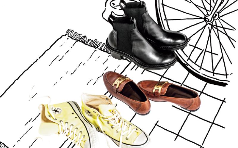 アラサー女子が「靴を3足しか持たない」ならどんな靴?【カジュアルコーデも】