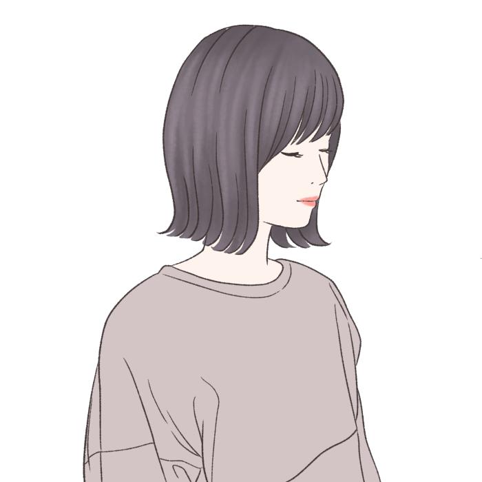 ●ヘアスタイルは甘めから辛めに