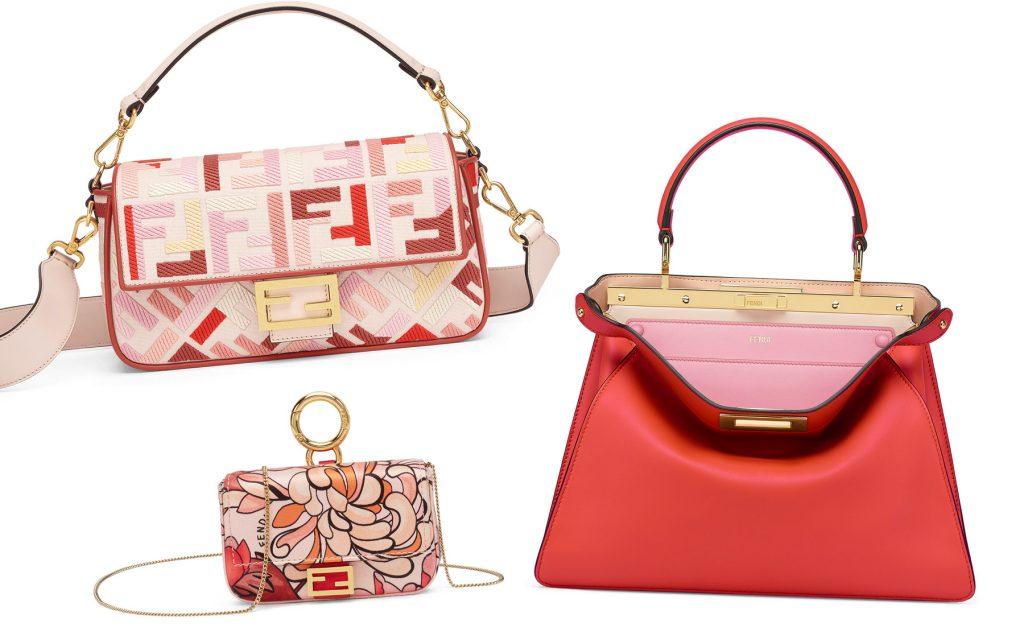 「フェンディ」の限定コレクションがキュートすぎる!赤&ピンクのデザインに注目。