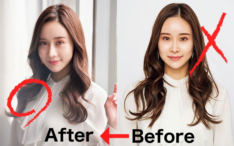 「愛の不時着」のユン・セリを完コピ!韓国風モテ巻き髪スタイル