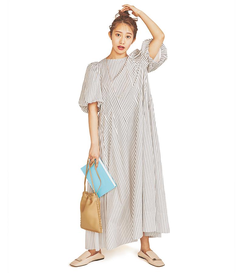 シンプルな服ほど、スタイルのい