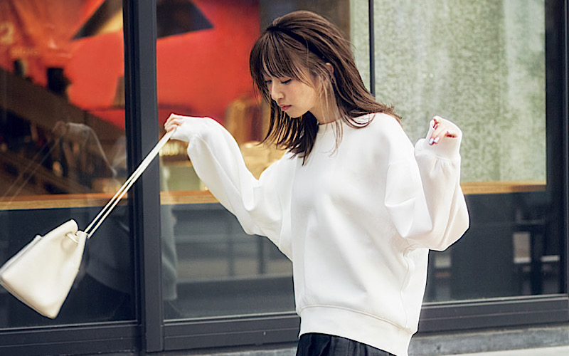 【今日の服装】「GUのスウェット」をオシャレに着るなら?【アラサー女子】