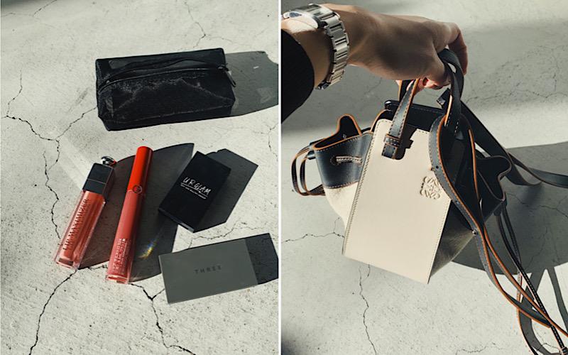 【ロエベのミニハンモック】意外と大容量!バッグの中身を公開します