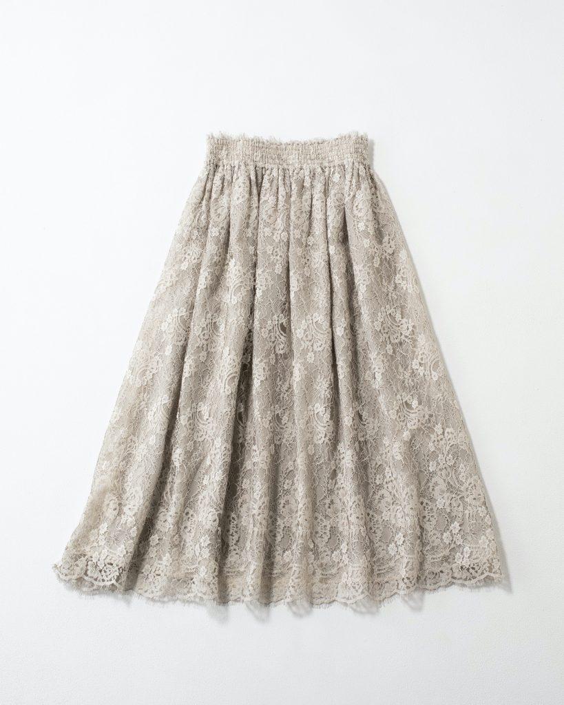 「王道のAラインフレアスカート
