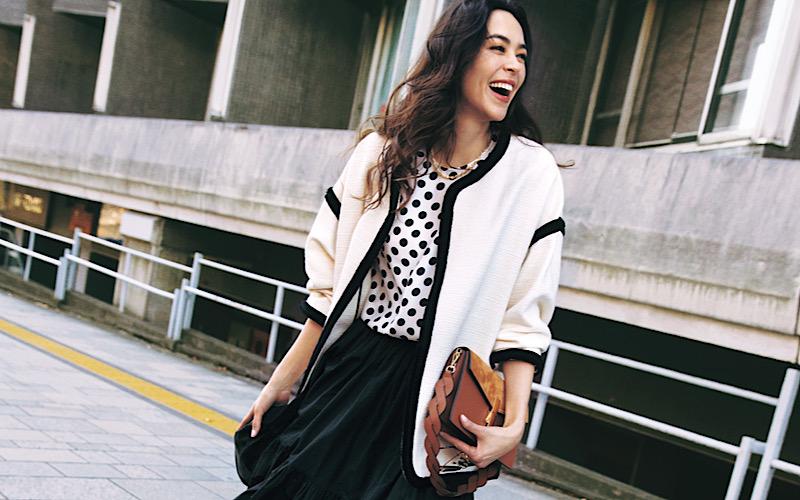 【今日の服装】大人可愛い「モノトーンコーデ」って?【アラサー女子】