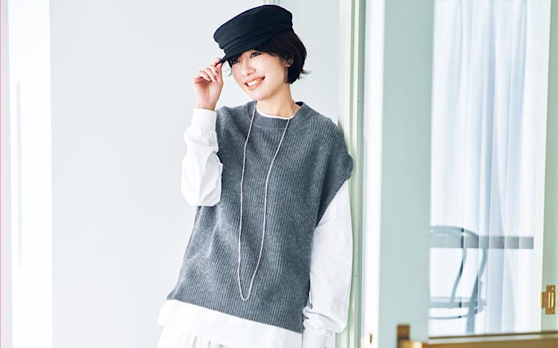 【今日の服装】「ゆったりしたロンT」を今っぽく着るなら?【アラサー女子】