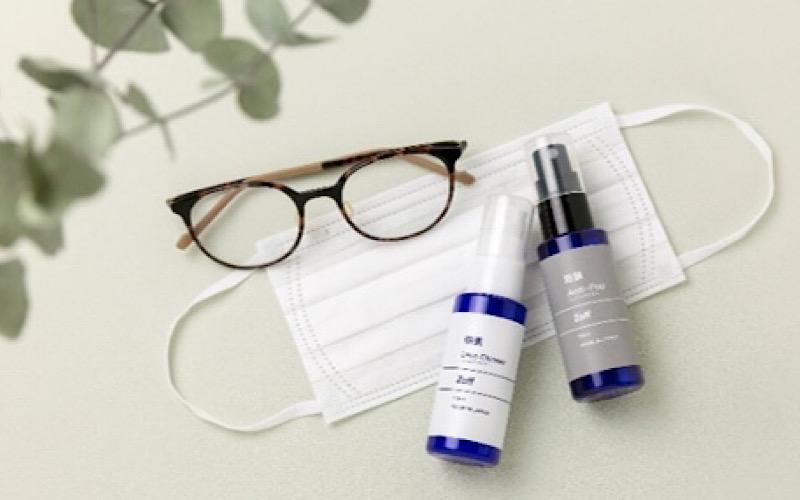 【Zoff】花粉・飛沫を最大98%カット&曇らないレンズのメガネを発見。