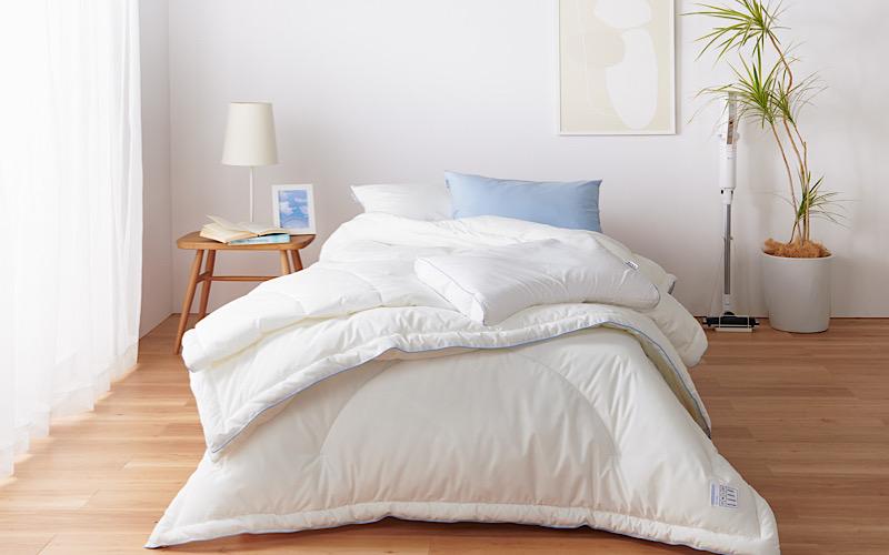 【花粉対策】花粉に負けない、快適な寝室の作り方【寝具選びや干し方、湿度】