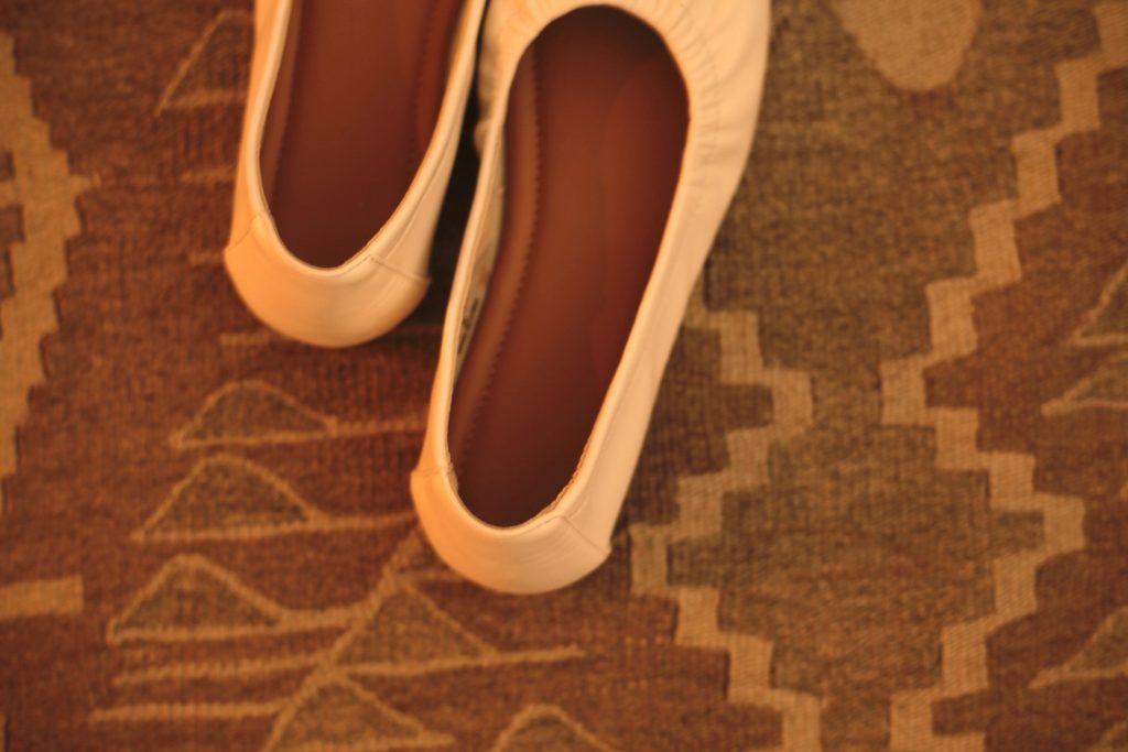 GUの靴がいいところは、中敷き