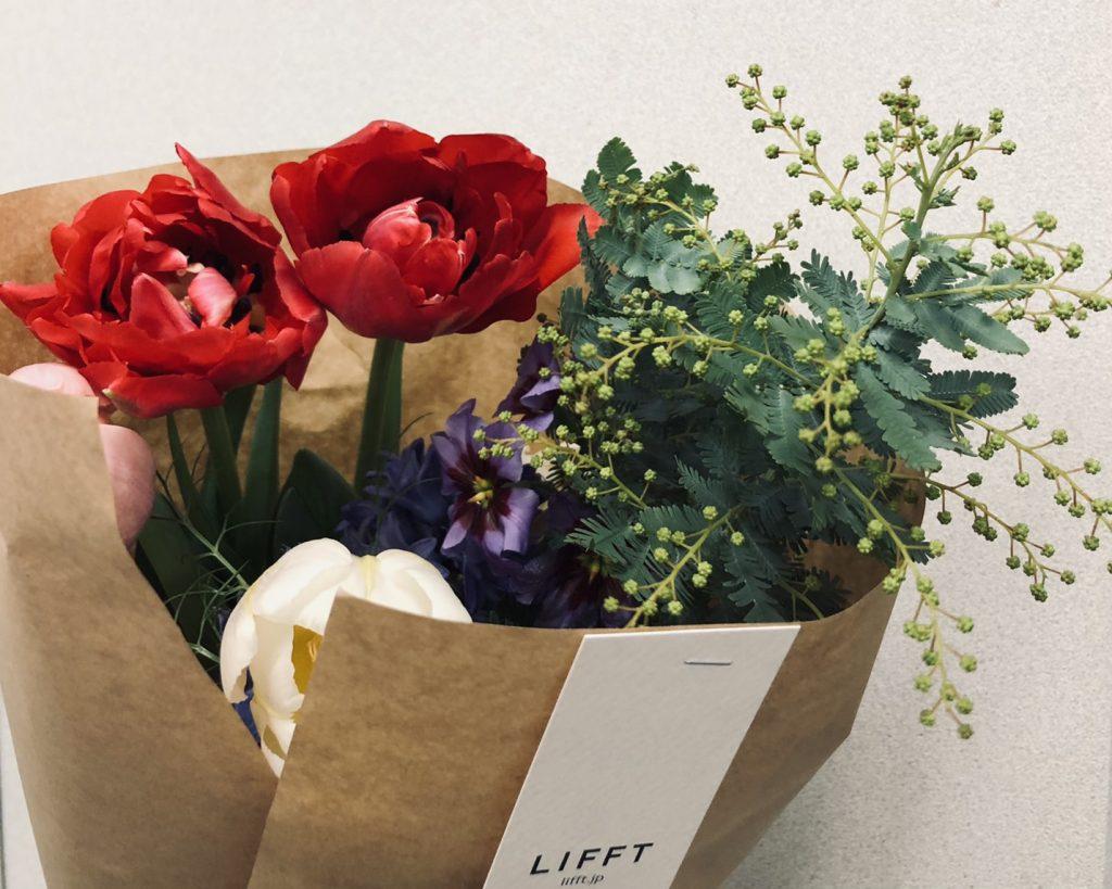 毎月届くお花はこんなイメージ。