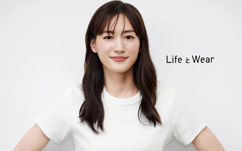 【ユニクロ】綾瀬はるかさんが「LifeWearスペシャルアンバサダー」に就任