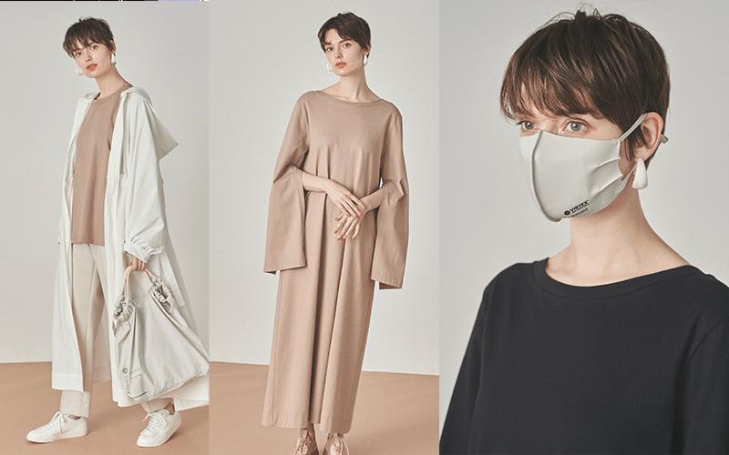 【emmi】「抗ウイルス素材」のファッションアイテムが登場!【マスク、ワンピース他】