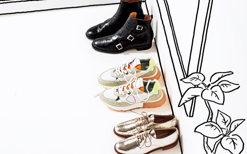 アラサー女子が「靴を3足しか持たない」ならどんな靴?【甘辛MIXコーデも】