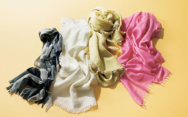大人世代におすすめ「ファッション業界人が溺愛するストール」4選