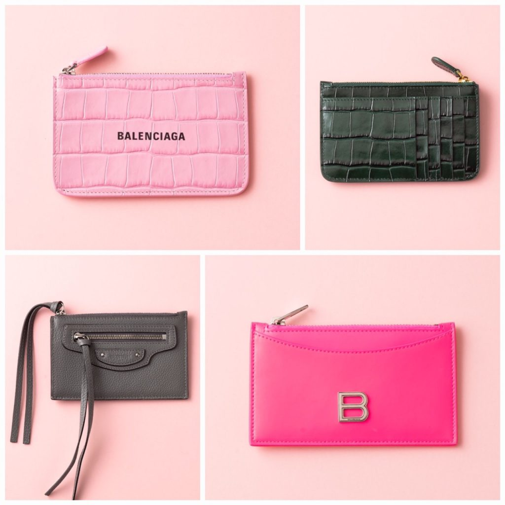 ハッピーなピンクとカッコいいグリーン&グレー、どっちも素敵!