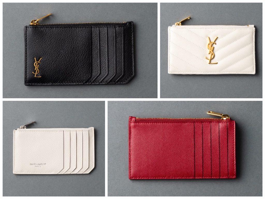 財布はもう時代遅れ⁉憧れブランドの最旬「フラグメントケース」【❸サンローラン】