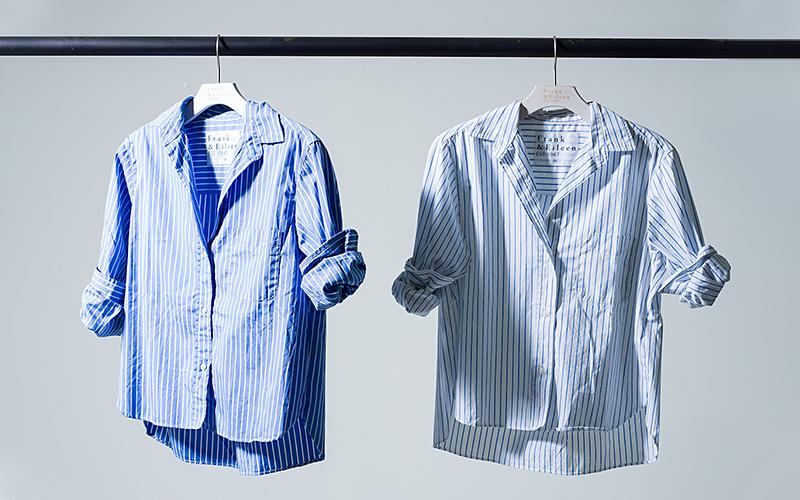 【絶対おさえるべき!】フランク&アイリーンの新型ゆったりシャツ!