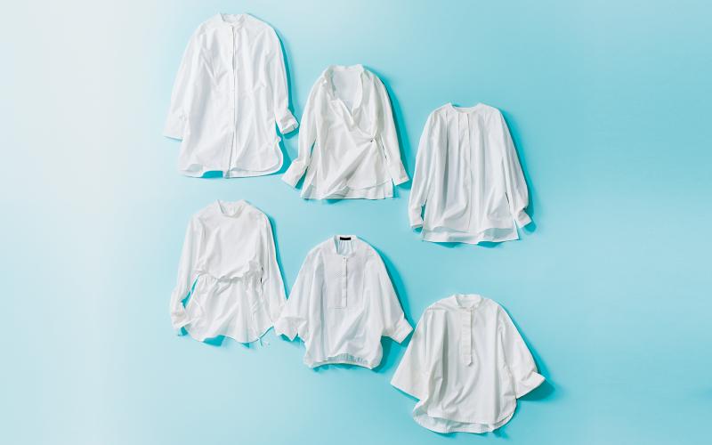 この春大人女子におすすめの「白シャツ」6選