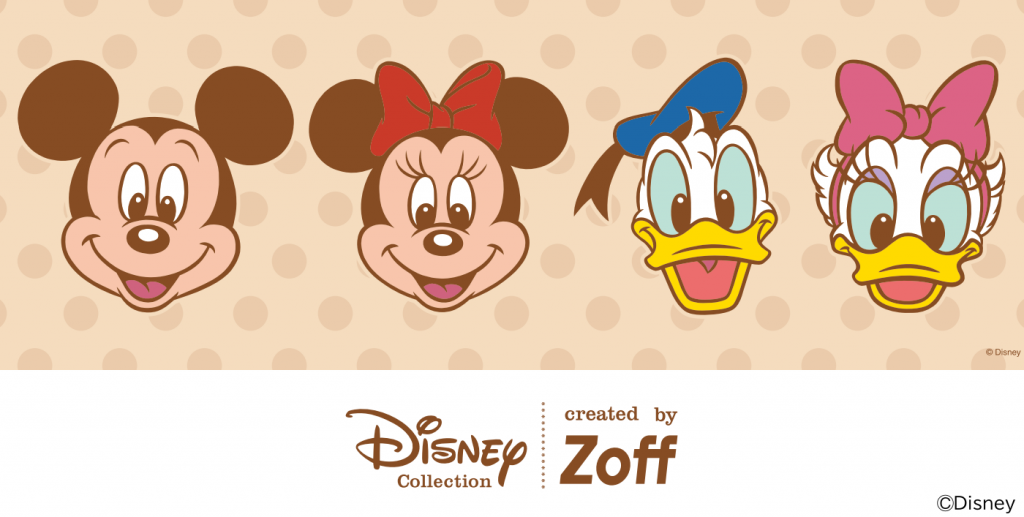 【Zoff】ディズニーコラボメガネに新シリーズが登場!