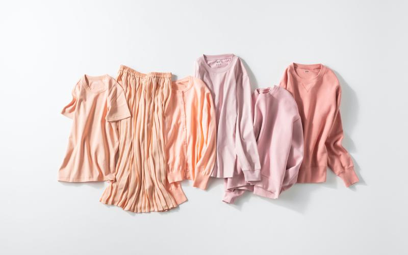 【全身ユニクロとGUで】簡単「春色ワントーン配色」ピンク編
