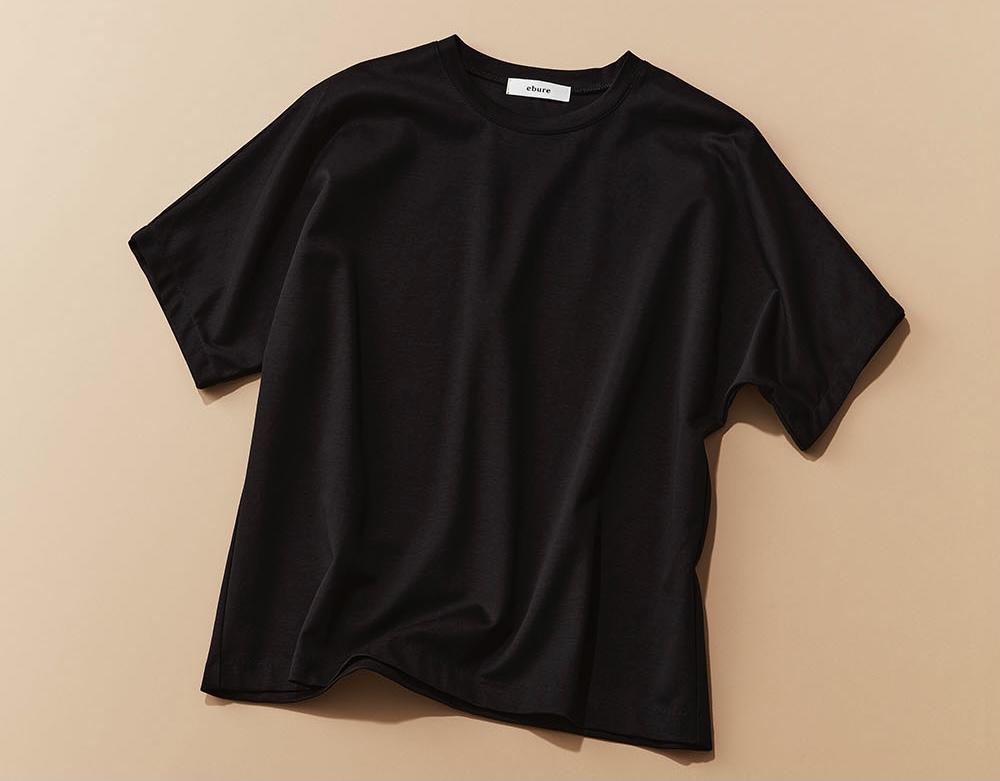 二の腕カバーの神!エブールのTシャツ【カジュアル名品①】