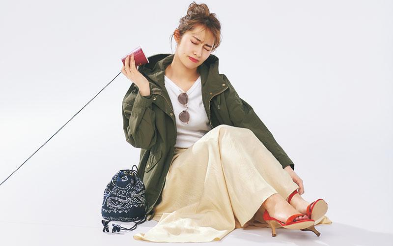 【桜井玲香】身長が低い人の「スカート」コーデ【今日の着回しDiary】