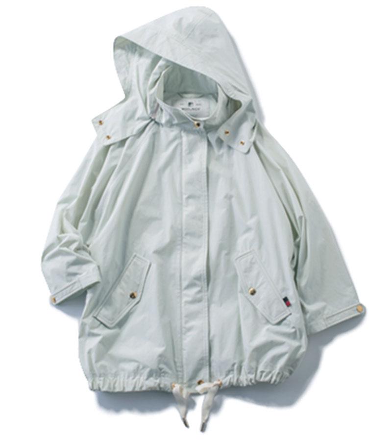 【5】マウンテンパーカ キレイめな服のハズしにひと役。※別注¥53,900(ウールリッチ/TOMORROWLAND)