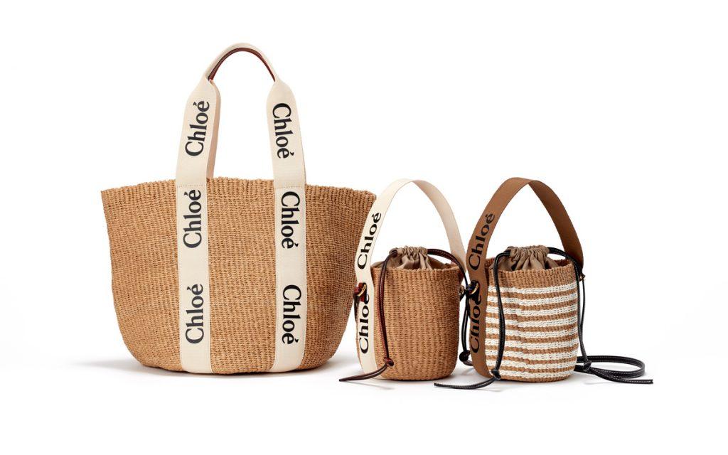 フェアトレードも支援できる! 「クロエ」から夏にぴったりのかごバッグが新登場。