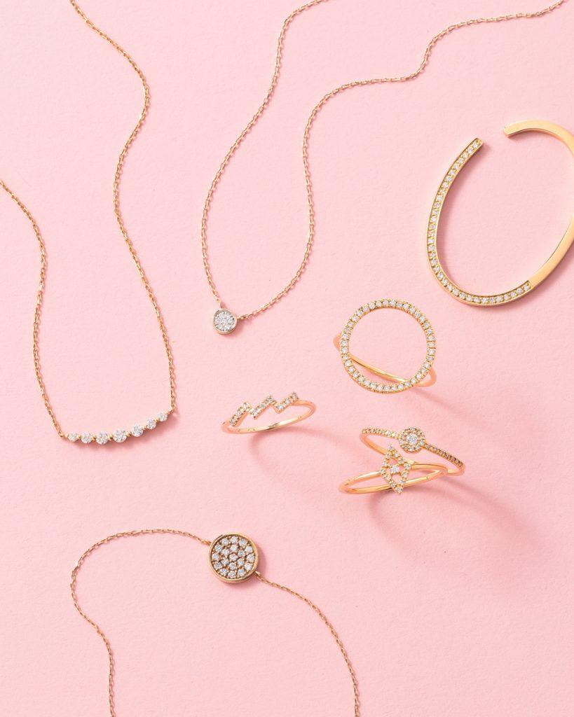 デザインのバリエも豊富!宝石の王様「ダイヤモンド」。