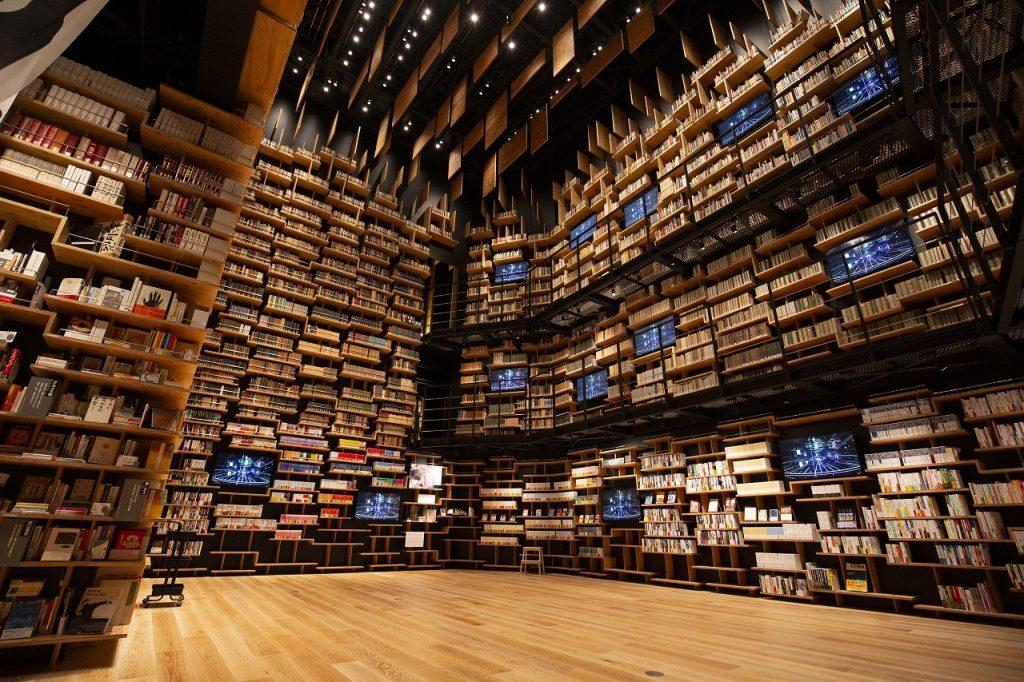 図書館、美術館、博物館を融合し