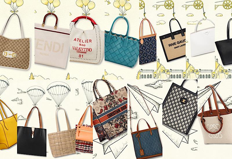 軽くて可愛い!人気ブランドのA4バッグ最新リスト|ヴィトン、グッチ、セリーヌ、ロエベ他