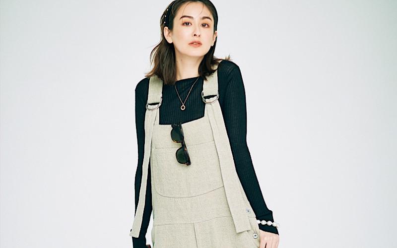 【今日の服装】子供っぽく見えない「サロペットコーデ」って?【アラサー女子】