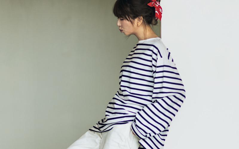 【今日の服装】「GUの白デニム」を大人可愛く着こなすなら?【アラサー女子】