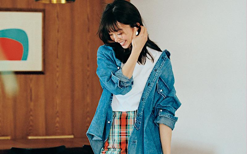 【今日の服装】古臭くない「デニムシャツ」コーデって?【アラサー女子】