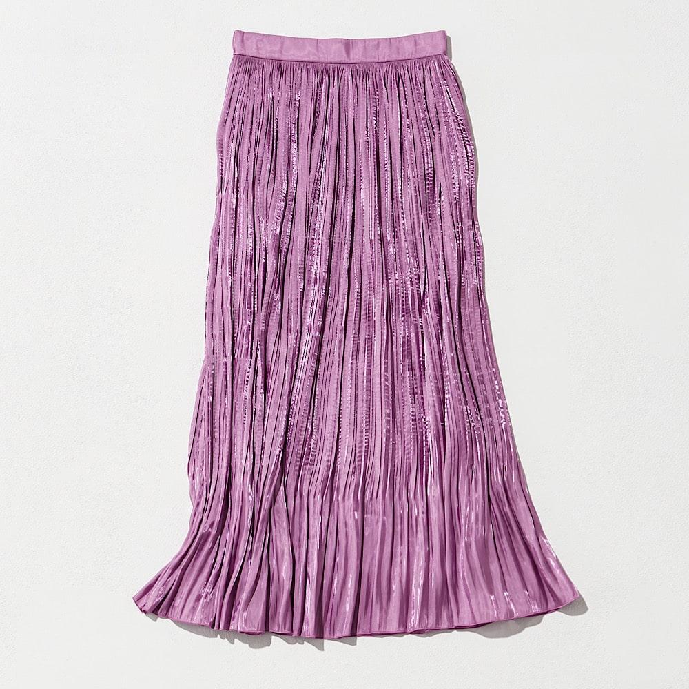 夏らしいキレイ色スカートなら、
