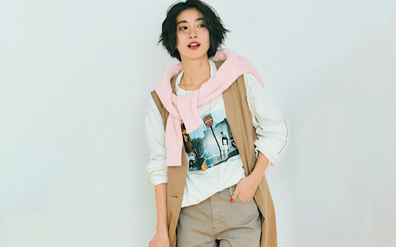 【今日の服装】「フォトT」を使ったトレンドコーデって?【アラサー女子】