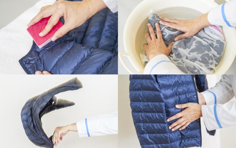 【衣替え】実は手洗いできる!ライトダウンの「適切な洗い方」
