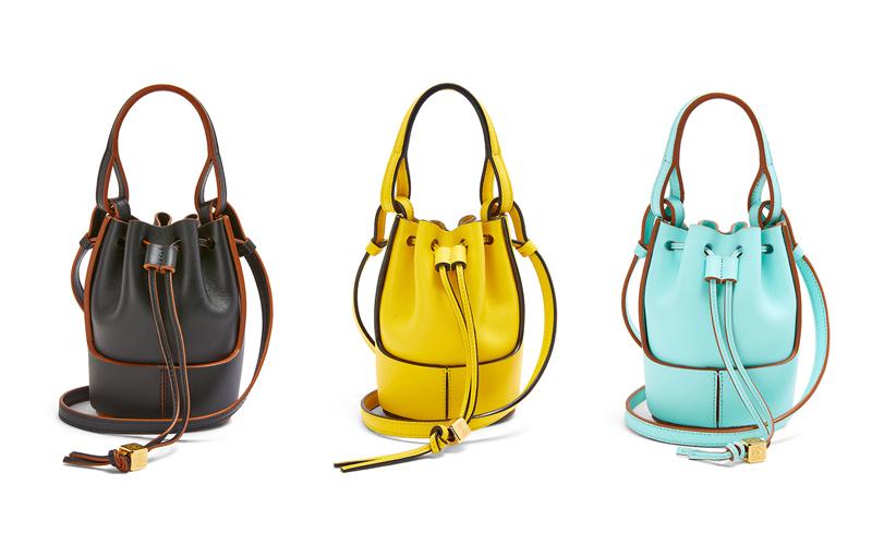 ロエベの人気バッグ「バルーン」ナノサイズが6つのカラバリで登場!