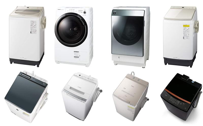 洗濯機のおすすめ13選【2021年最新版】Amazon人気モデルの選び方