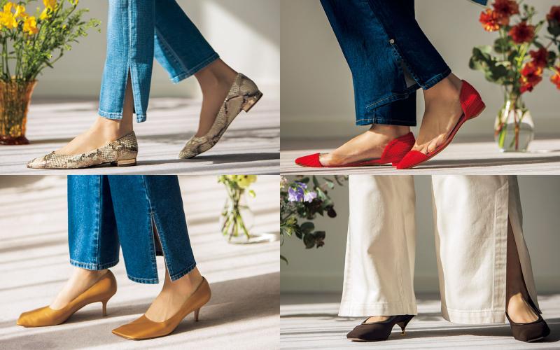 「スリットデニム」と相性が悪くない靴の条件4つ
