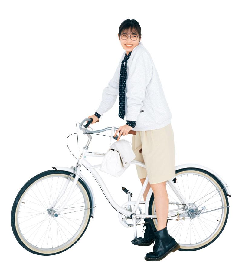 まさか私が自転車通勤をするなん