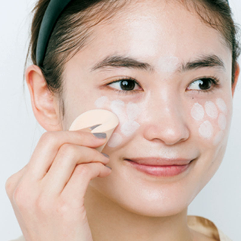 A.肌と一体化する日焼け止め乳